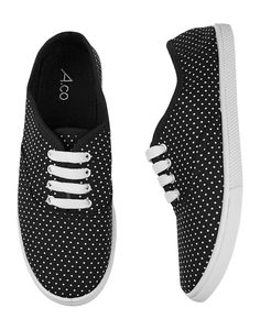 If you #love #polkadots, you'll want to make these sneakers a new staple in your wardrobe!