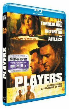 PLAYERS - JUSTIN TIMBERLAKE - BEN AFFLECK en BLU-RAY - NEUF