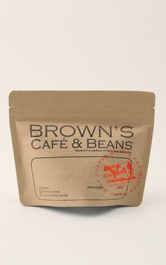 brown's cafe&beans  #coffee#package