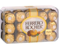 A cold wet day is perfect for Ferrero Rocher!  Actually, any day is perfect is Ferrero Rocher!