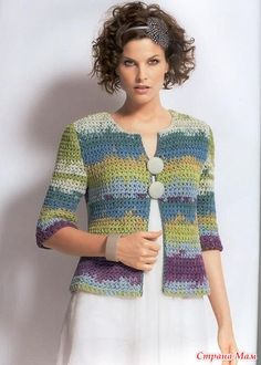 Fabulous Crochet a Little Black Crochet Dress Ideas. Georgeous Crochet a Little Black Crochet Dress Ideas. Gilet Crochet, Crochet Jumper, Black Crochet Dress, Crochet Coat, Crochet Cardigan Pattern, Crochet Jacket, Crochet Blouse, Crochet Clothes, Crochet Stitches