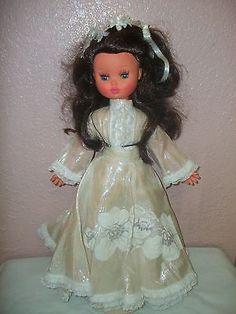 Vintage Vinyl Dolls for sale Bride Dolls, Vinyl Dolls, Dolls For Sale, Vintage Dolls, Doll Clothes, Disney Princess, Antiques, Ebay, Antique Dolls
