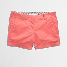 "Jcrew 3"" shorts tropical guava"