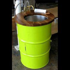 44 gallon drum reuse idea