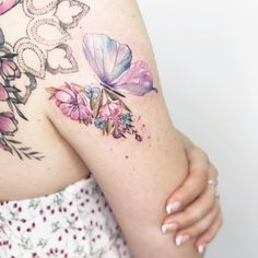 💖 Not just a butterfly 💖 . MADE with the support of 🦋 . s ed ing er Band Tattoos, Rose Tattoos, Body Art Tattoos, Small Tattoos, Flower Tattoos, Sleeve Tattoos, Key Tattoos, Butterfly Tattoos, Pretty Tattoos For Women