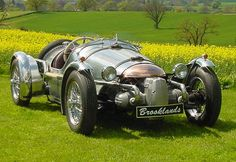"The Genius that built it christened it ""Brooklands"""