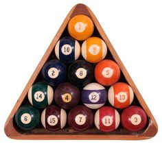 Framed Billiard Balls
