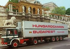 RABA Truck Budapest Hongarije
