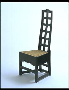 Mackintosh design pinterest stuhl for Stuhl design schule