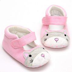 ebb79de6502 Jarní a podzimní dívky dívky obuv období a nový karikatura roztomilý  vnitřní děti Baby protiskluzové boty 0 do 1 YEW320