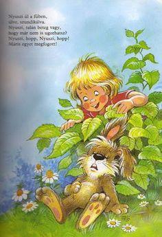 Zsuzsi tanitoneni - Google+ Children, Kids, Bunny, Faith, Album, Retro, Fictional Characters, Hungary, Archive