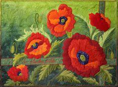 In Flanders Fields 2 by Joann Belling | art quilt