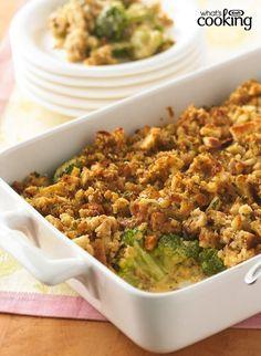 Cheesy Broccoli Casserole #recipe