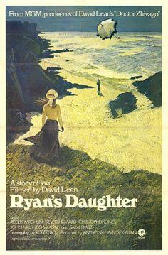 David Lean's beautiful romance set in Ireland. Ryan's Daughter.