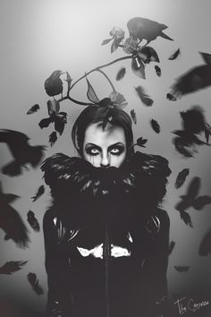 ' Badb - The beginning of Morgana ' by Marion d'Angoulême aka The Comtesse