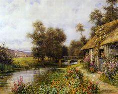 Tenham todos uma linda sexta feira   Fiquem com estas belas pinturas de   Louis Aston Knight
