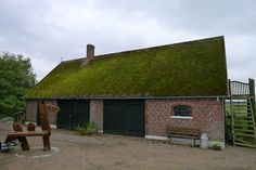 Old farm building with moss roof   Flickr - Photo Sharing!