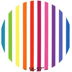 Michael miller's Mighty Stripe Rainbow. Mmm... love this! <3