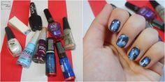 Esmalte da Semana | Galaxy Nails | Nail Polish | Nail Art | Desafio 31 unhas | Perspectiva Laranja