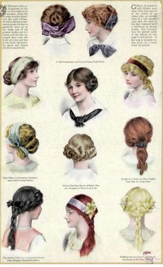 Vintage Hairstyles Retro Nice Edwardian hairstyles for teenage girls The post Edwardian hairstyles for teenage girls… appeared first on ST Haircuts . - Edwardian hairstyles for teenage girls Historical Hairstyles, Edwardian Hairstyles, Vintage Hairstyles, Teenage Hairstyles, Short Hairstyles, 1800s Hairstyles, Drawing Hairstyles, Braid Hairstyles, Belle Epoque