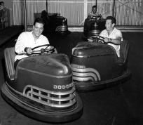 Elvis on Bumper Cars , Free S&H $7.50