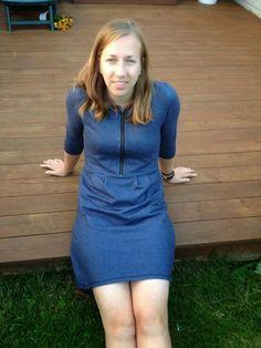 Retrofant: En dongerikjole til høsten