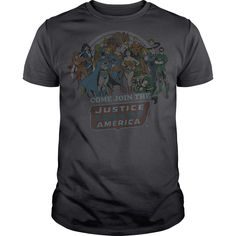 View images & photos of DC Join the Justice League t-shirts & hoodies