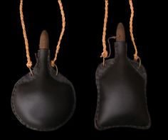 Leather costrels - Leather water bottles for sale
