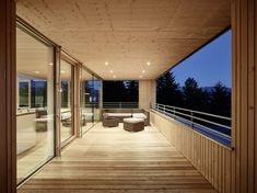 Alpine Lodge, Hillside House, Timber Cladding, Rooftop, Stairs, House Design, Mansions, Architecture, House Styles