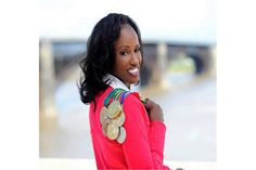 <p>A four-time Olympian, three-time gold medalist and basketball /track athlete at UCLA, Jackie Joyner-Kersee was diagnosed with severe asthma. Afraid of losing her scholarship, she ducked her coaches after learning about the diagnosis but was later able to become healthy and learn to handle her disease.</p> <p>Image source:sportweekzim</p>