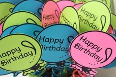 Simple Classroom Birthday Labels