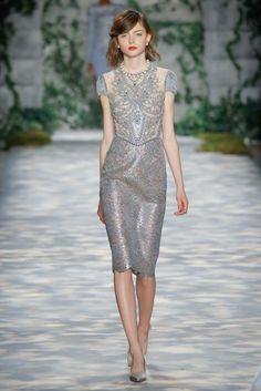 Jenny Packham Autumn/Winter 2017 Ready to Wear Back to Galleries Collection | British Vogue