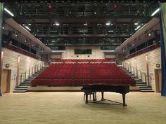 St Mary's School Ascot Theatre St Mary's School Ascot, Auditorium Architecture, Saint Mary School, Ballet Studio, After School, School Stuff, Theatre, Interiors, Theatres