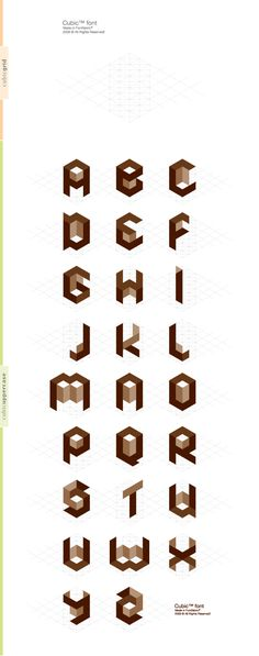 Cubic™ by Fontfabric , via Behance