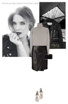 """""""Well, two can keep a secret if one of them is dead. // PLL"""" by hil4ry ❤ liked on Polyvore featuring Acne Studios, Jil Sander, J. Mendel, Steve Madden, Benedetta Bruzziches and pll"""