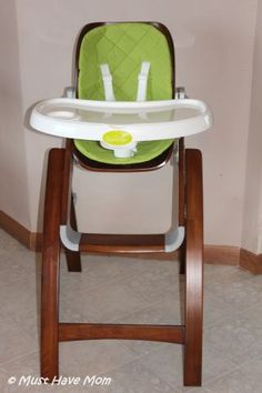 BEST Wood High Chair Out There! Summer Infant Bentwood High Chair