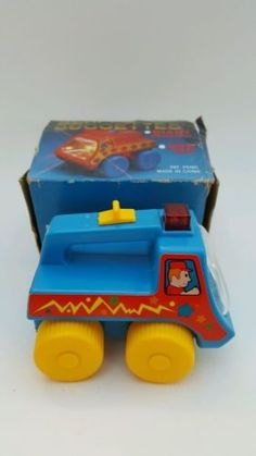 Vintage BEAM BUGGETTES Red Giant Headlight #13-510 Blue Battery Operated Toy Car - http://hobbies-toys.goshoppins.com/electronic-battery-wind-up-toys/vintage-beam-buggettes-red-giant-headlight-13-510-blue-battery-operated-toy-car/
