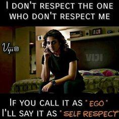 #selfish girl