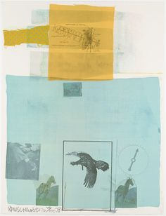 """"""" Robert Rauschenberg, Why You Can't Tell #1, 1979 """""""