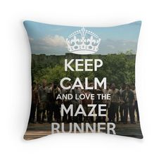The Maze Runner Throw Pillows