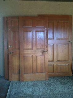 $50 Solid wood doors