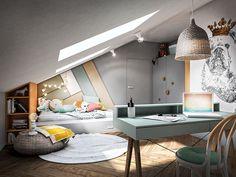 Baby Room Decor, Bedroom Decor, Dream Home Design, House Design, Office Bed, Kids Room Design, Aesthetic Bedroom, House Rooms, Boy Room