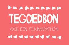 Tegoedbon voor een filmmarathon! Sef Quotes, Mom And Dad, Qoutes, Wisdom, Neon Signs, Letters, Mood, Presents, Birthday
