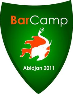 Logo Officiel du Barcamp Abidjan 2011, designed by Lordfera Design, now on @pinterest http://www.lordferadesign.com
