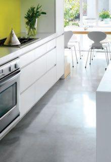 Le béton - concrete floor
