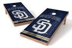 San Diego Padres Single Cornhole Board - Vintage