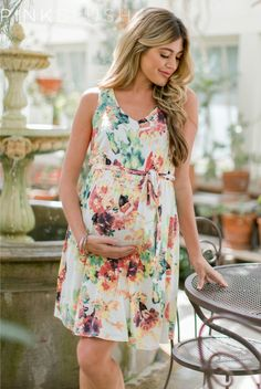 Double lined to prevent sheerness. Maternity Dress Outfits, Stylish Maternity, Pregnancy Outfits, Maternity Tops, Maternity Wear, Maternity Fashion, Maternity Style, Dresses For Pregnant Women, Outfit Trends