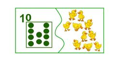 10 Subitizing, Matching Games, Maths, Farm Animals, Montessori, Puzzles, Kindergarten, Kids Rugs, Teaching