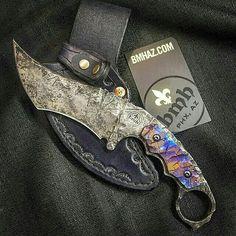 Monster blade by @bmhknives on Instagram #handmade #custom