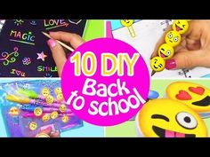 MAKING 10 AMAZING DIY BFF Gift Ideas, School Supplies, Room Decor & Organization COMPILATION! - YouTube